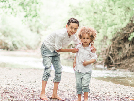 Lucas and Thomas/ siblings session / Michigan portrait Photographer