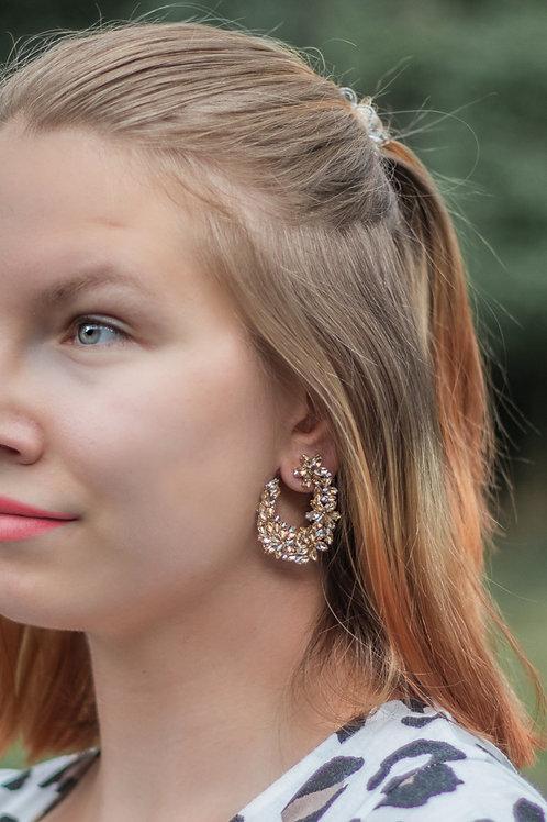 Wanderlust Sparkly Drop Earrings