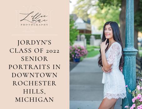 Jordyn's Summer Senior Portraits In Rochester Hills, Michigan