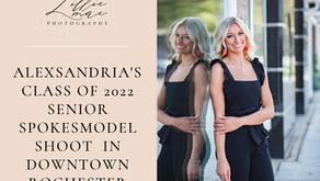 Alexsandria's Downtown Rochester Senior Portraits // Class of 2022 Senior Spokesmodel