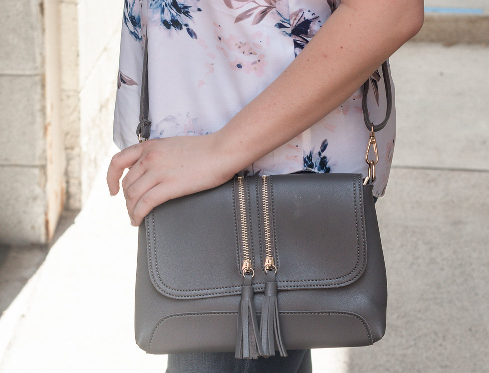 Santiago Tassel Crossbody Bag