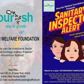 Nourish Foundation Presented Sanitary Inspector Alert