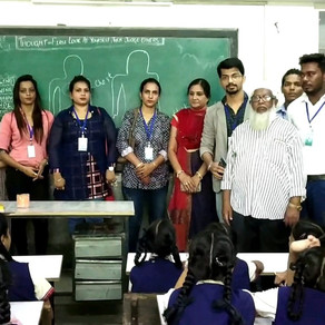 Celebrated World Literacy Day with Students & Teachers