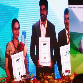 Nourish Foundation India awarded by World CSR co