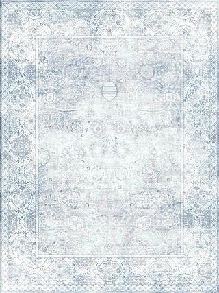 Antiqua Reserve Mugal Tabriz Blue Silver