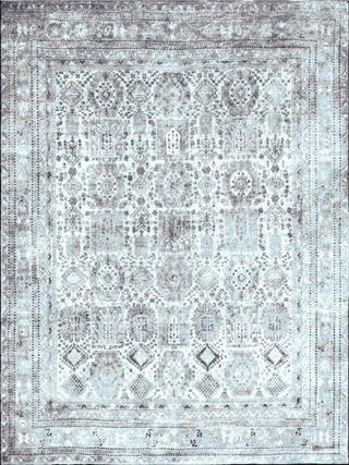 Antiqua Baluch Blue Grey