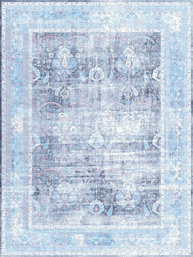 Antiqua Reserve Kerman Grey Blue