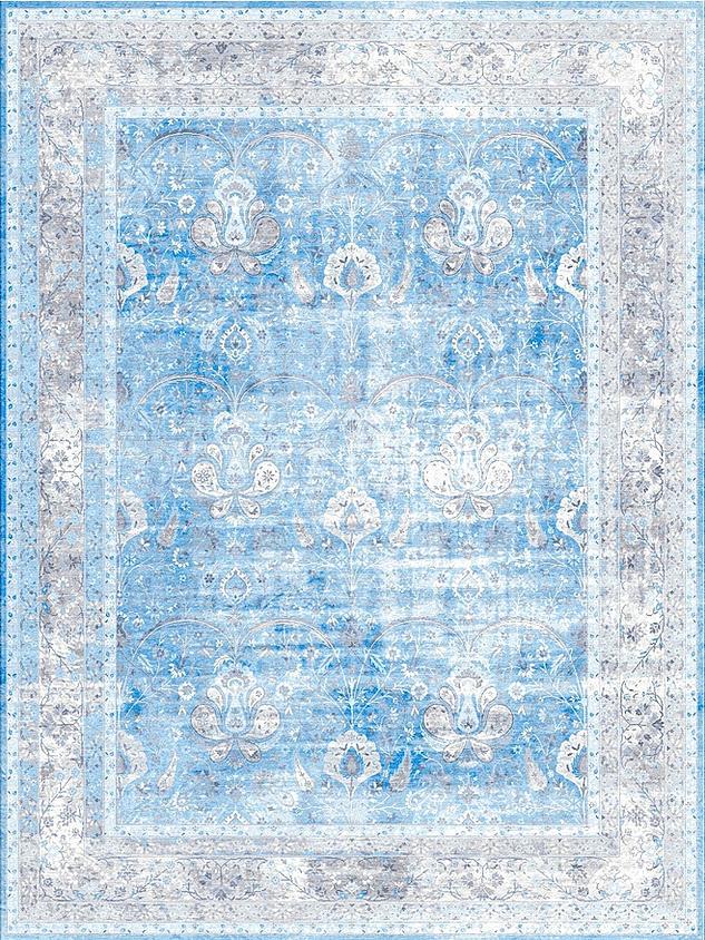 Antiqua Reserve Kerman Blue Silver
