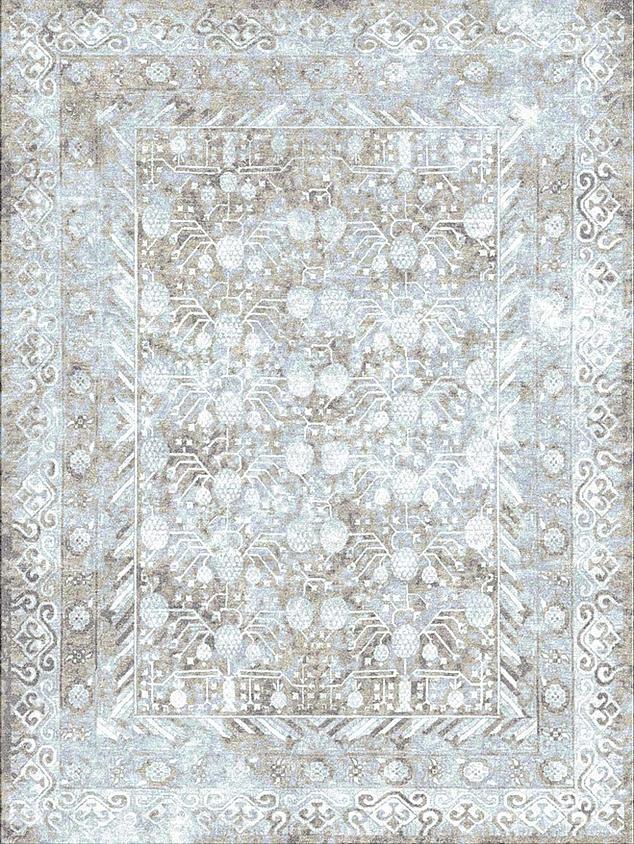 Antiqua Samarkand Tan Blue