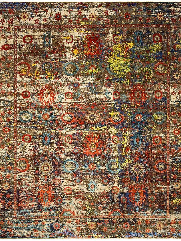 Bidjar Paddington Artwork 18 Orange