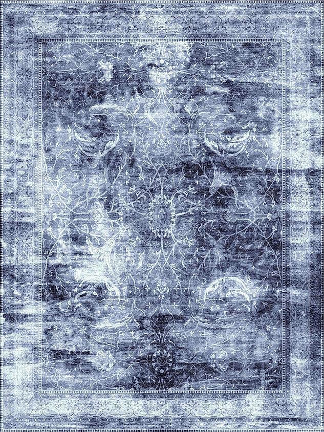 Antiqua Reserve Sarouk Dark Grey