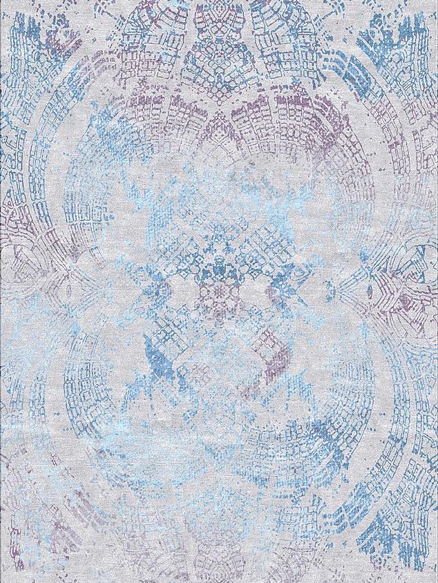 Silk Route 10 Silver Blue
