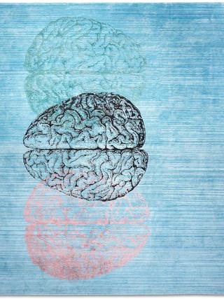 Brain Turquoise Abrash