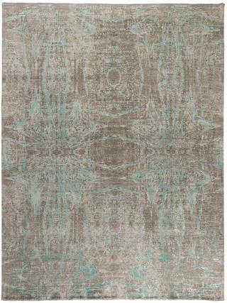 Anamika Grey Turquoise