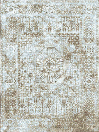 Antiqua Mamluk Blue Tan