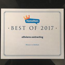 Homestars best of 2017 Durham
