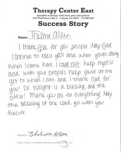 Brandon's Success Story
