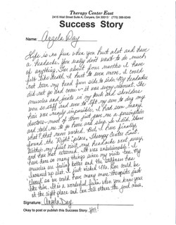 Headaches Success Story