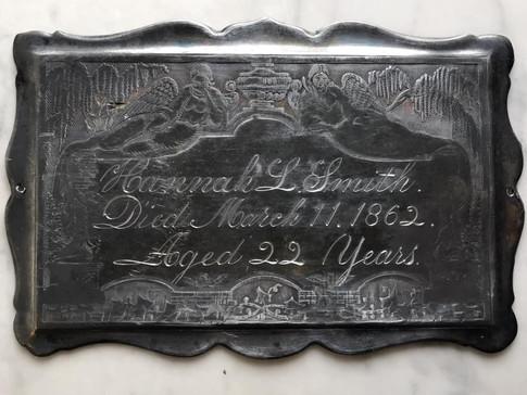 Victorian Casket Plate