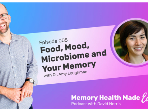 The microbiome, your memory and my nerves - a podcast