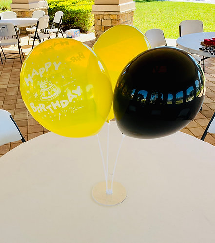 Basic 3 Balloon Centerpiece