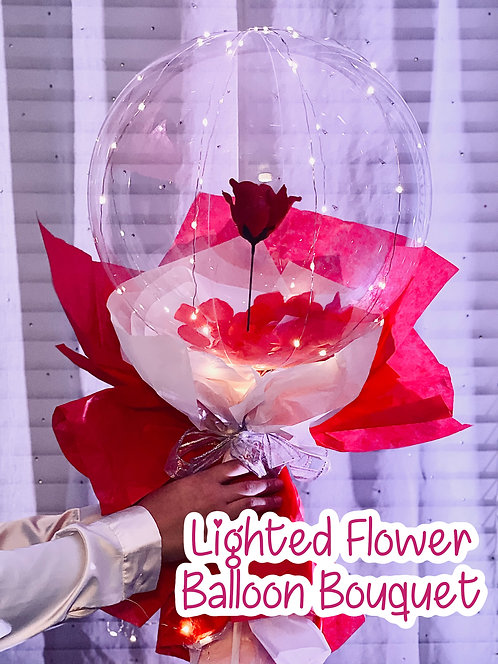 Lighted Flower Bouquet