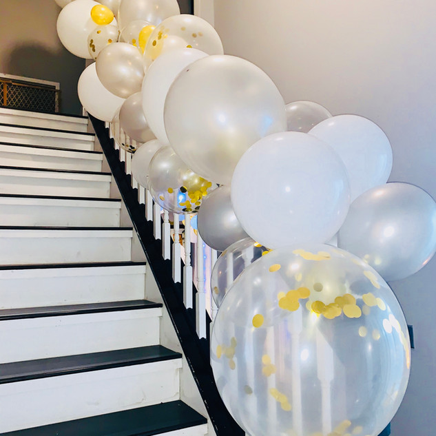 Staircase Organic Garland