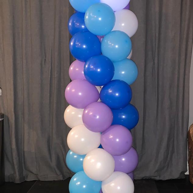 Balloon Column Party Decor