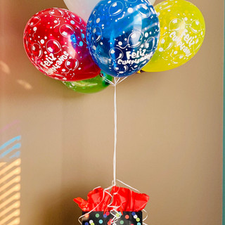 Fiesta/Birthday Balloon Gift Arrangement