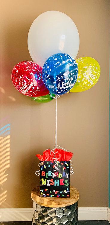 Deluxe Balloon Gift Arrangement