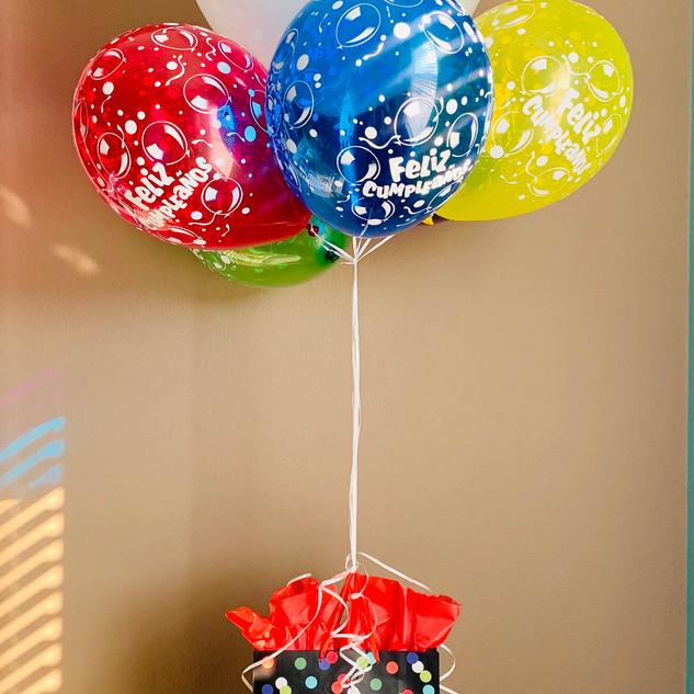 Fiesta/Birthday Balloon Gift Arrangement