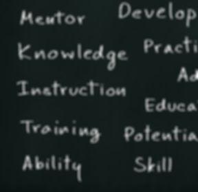 business hand writing coaching concept o