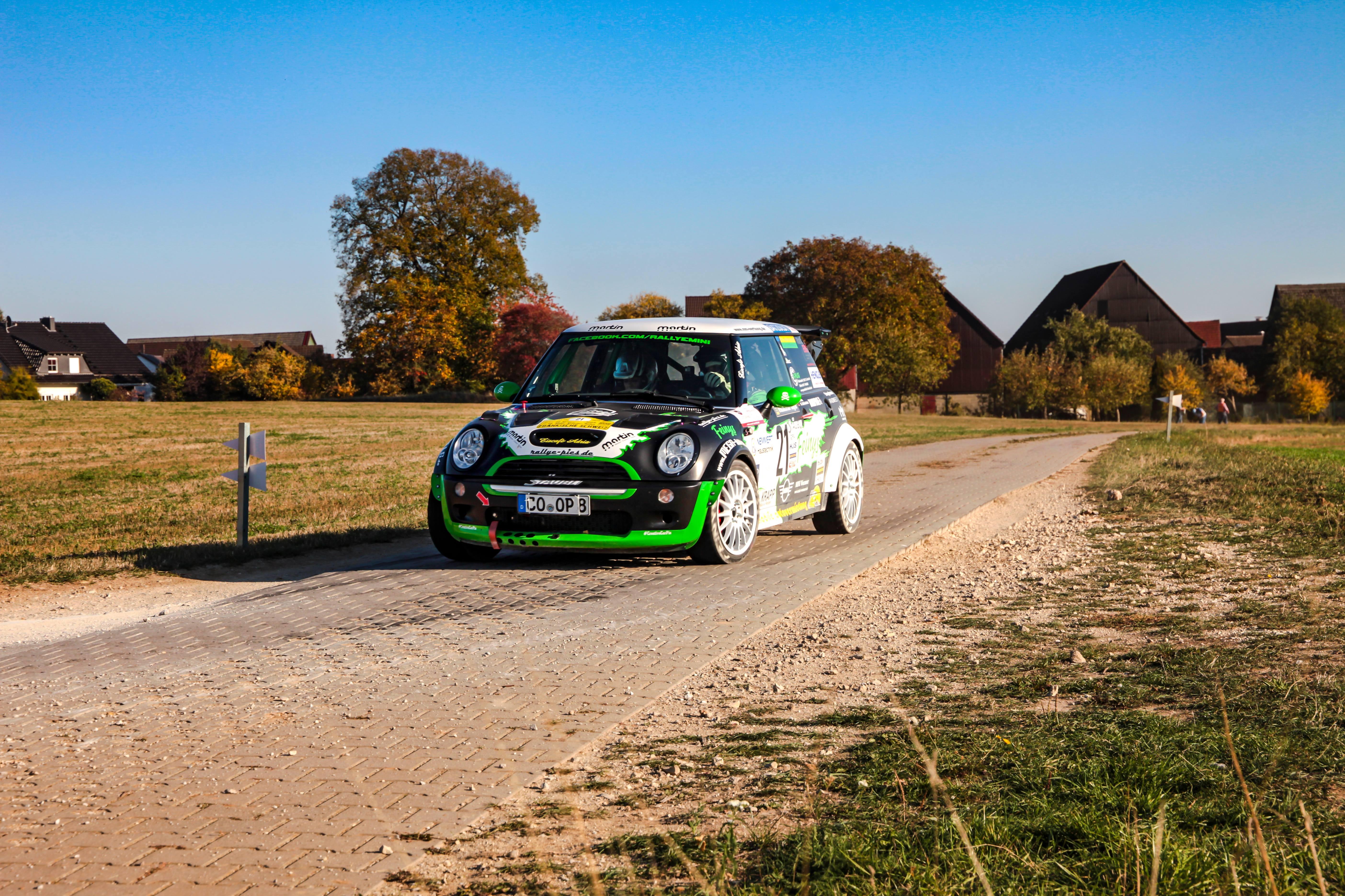 Rallye Cooper @ WP 4/8 Neudorf Rallye fränkische Schweiz 2018