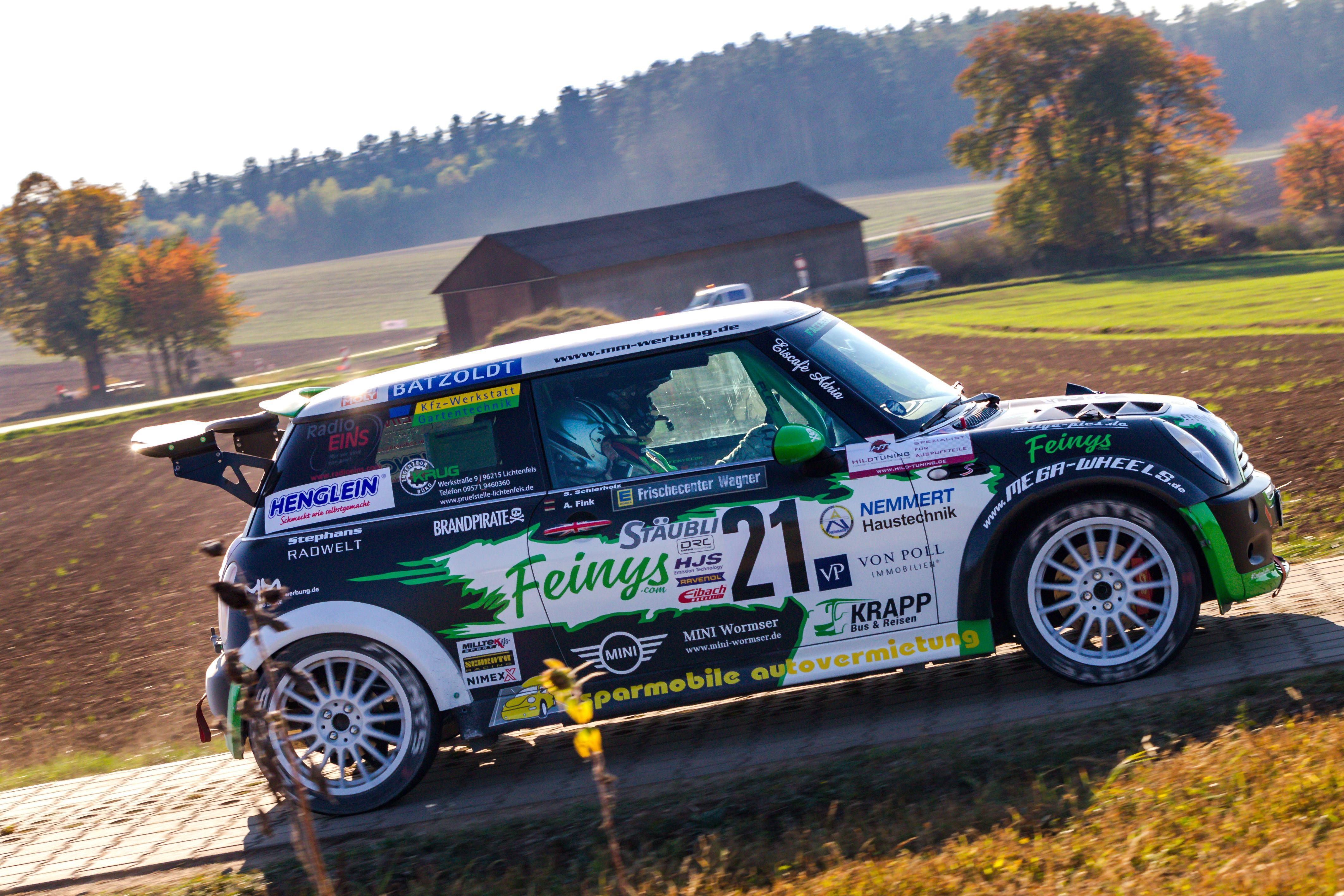 Rallye Cooper @ WP 3/7 Schirradorf Rallye fränkische Schweiz 2018