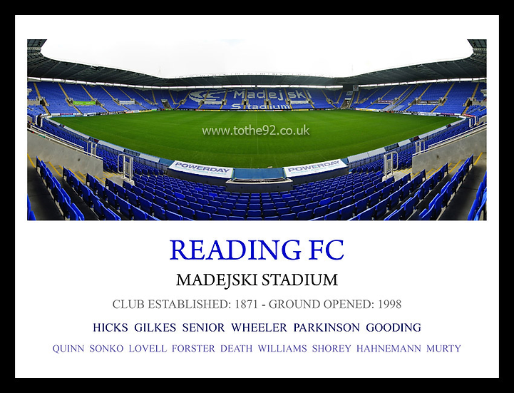 Reading FC - Legends