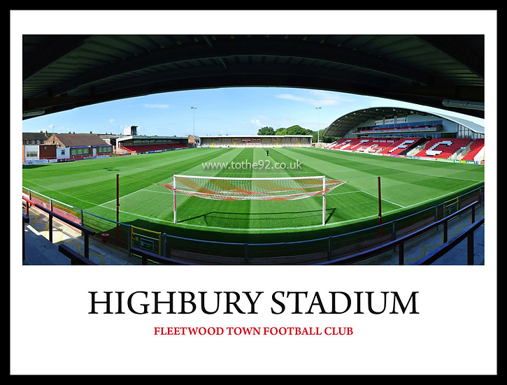Fleetwood Town - Highbury Stadium