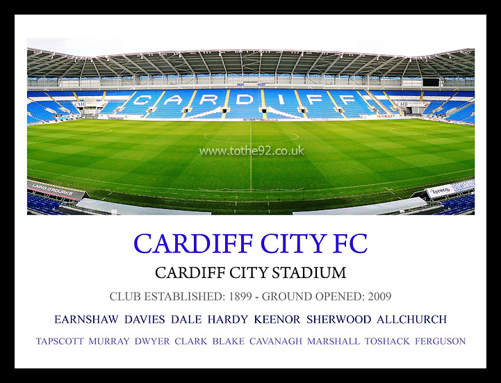 Cardiff City FC - Legends