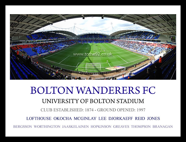 Bolton Wanderers FC - Legends