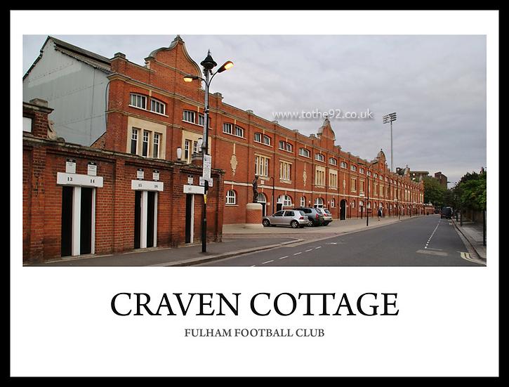 Fulham - Craven Cottage