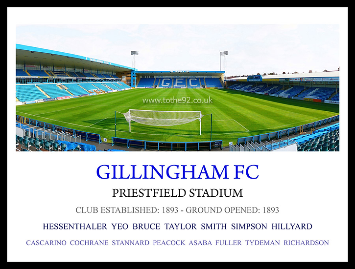 Gillingham FC - Legends