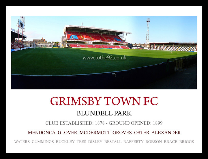 Grimsby Town FC - Legends