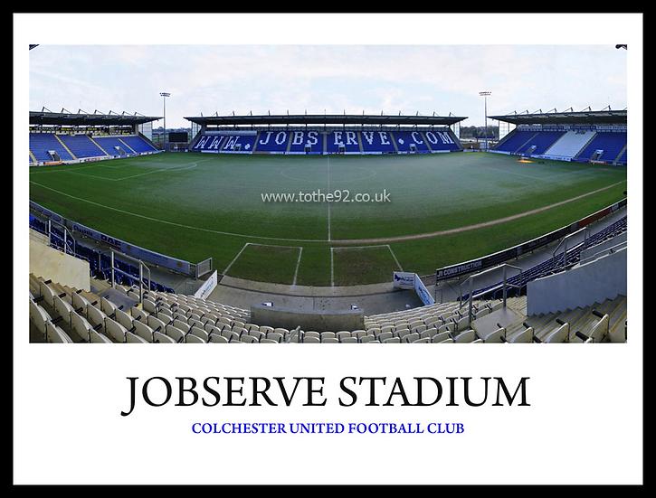 Colchester United - Jobserve Community Stadium