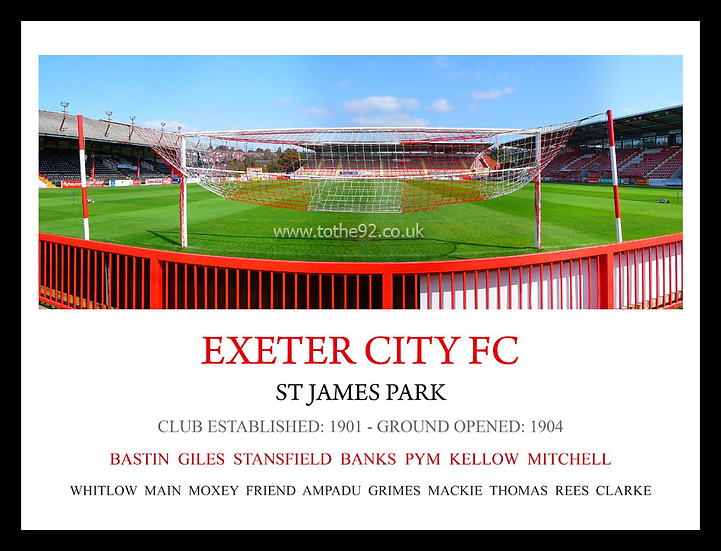 Exeter City FC - Legends