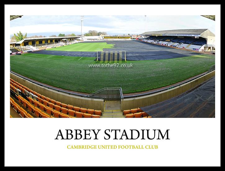 Cambridge United - Abbey Stadium