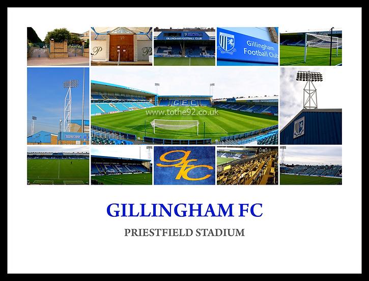 Gillingham FC - Montage