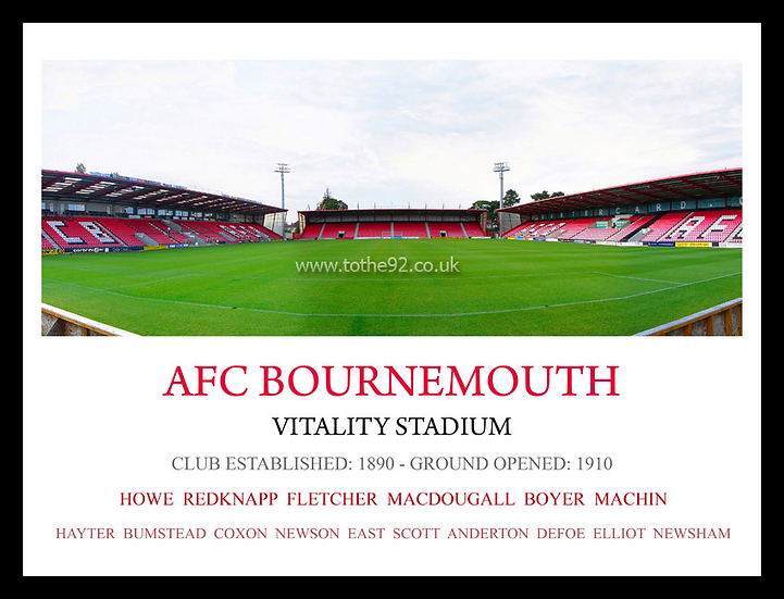 AFC Bournemouth - Legends