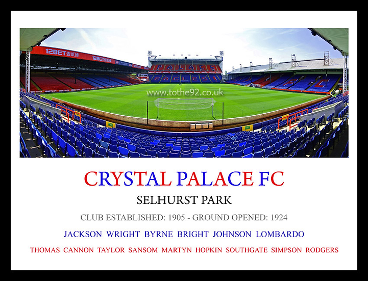 Crystal Palace FC - Legends