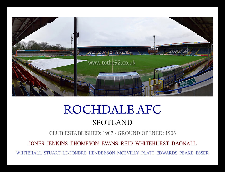 Rochdale AFC - Legends