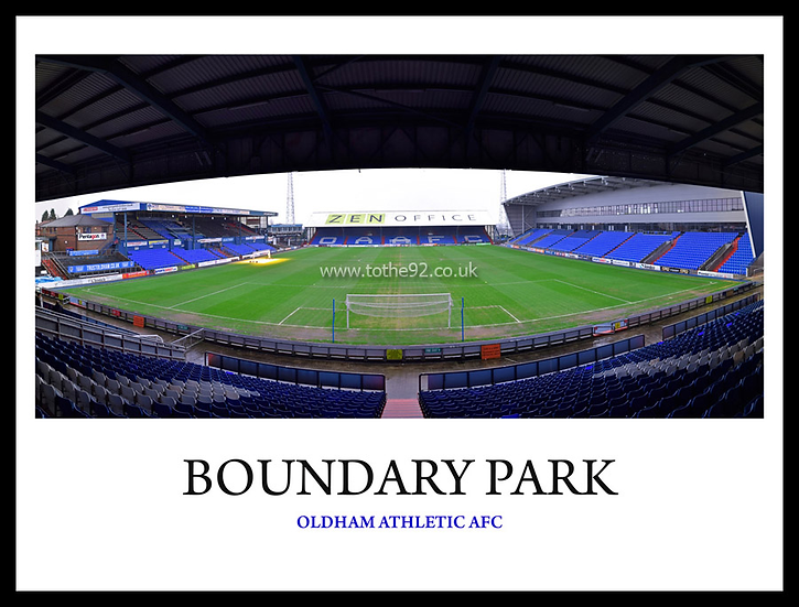 Oldham Athletic - Boundary Park
