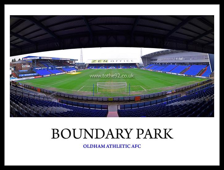 Oldham Athletic - Boundary Park